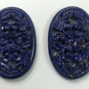 Lapis Gemstone Handmade Carvings