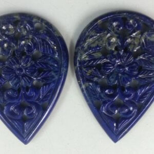 Lapis Gemstone Handmade Carving
