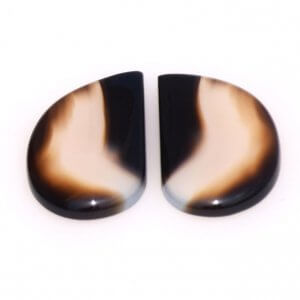 Black Onyx Gemstone Carvings-11