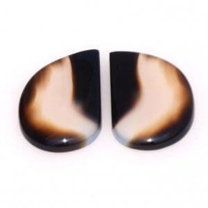 Black Onyx Gemstone Carvings-11