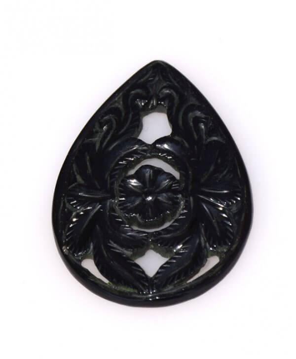 Black Onyx Gemstone Carvings