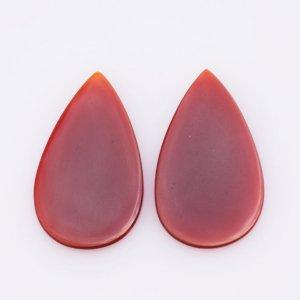 Natural CAROLINE Oval shape gemstone pair 27.35ct 19x28mm 22$-
