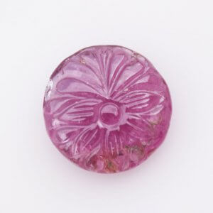 19.60ct 18mm Natural Gemstone Tourmaline Handcrafted Carving